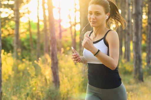 Girl running